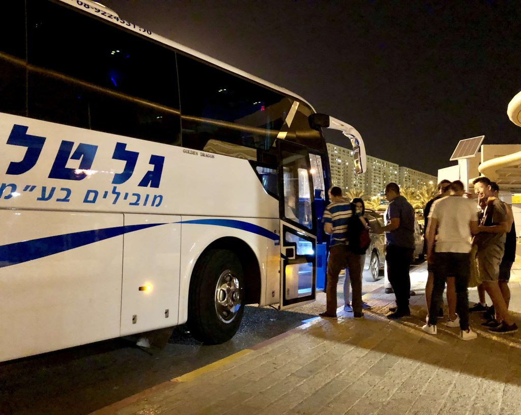 אוטובוס שנה שעברה בימי שישי בערב (1)
