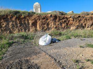 פסולת בניין רחוב ניסן