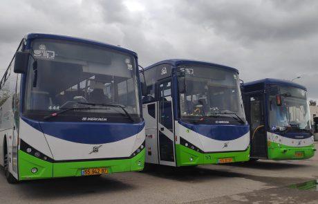 קווים תתרום שטחי פרסום על גבי האוטובוסים שלה במודיעין והסביבה לעסקים שנפגעו מהקורונה