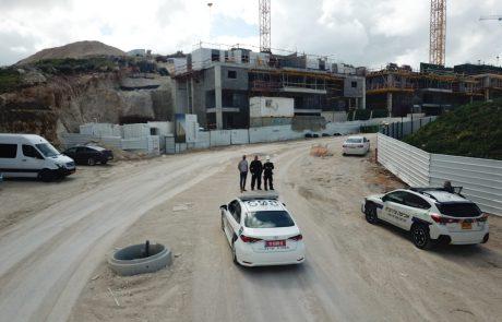 מבצע אכיפה באתרי בנייה בשכונת מורשת