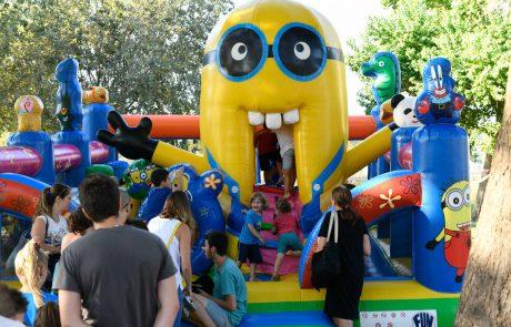 מסיבת סיום קיץ לילדים עם רינת גבאי והתקווה 6 בפארק ענבה