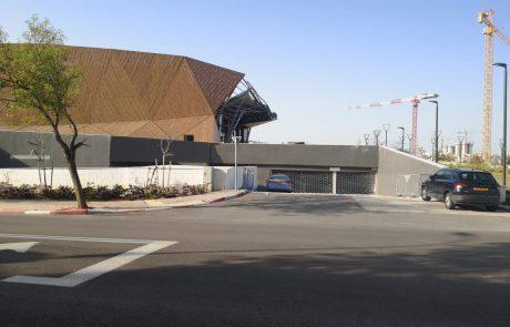 חניון מרכז העיר נפתח במטרה לעידוד המסחר והפנאי בעיר