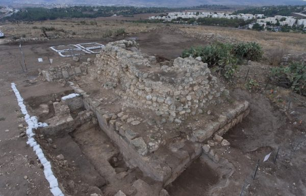נחשפה מצודה רומית בתיתורה