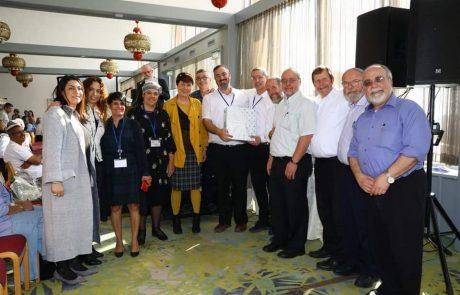 פרס החינוך הדתי הוענק לישיבת שעלבים
