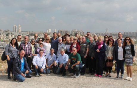 """יו""""רי ארגוני המתנדבים יצאו לטיול מאורגן עם ראש העיר"""