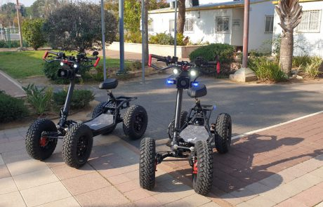 כלים ממונעים יסייעו באכיפה לשיטור העירוני וסיירי הביטחון