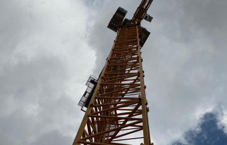תאונת עבודה: פועל נפל מגובה באתר בנייה בליגד – פצוע בינוני במקום
