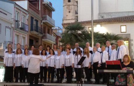 מקהלת תו התפר הופיעה בפסטיבל בינלאומי