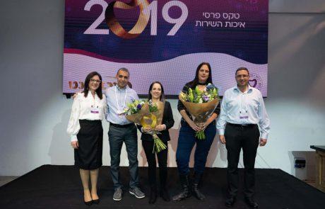 """מכבידנט מודיעין: זוכת פרס איכות השרות של """"מכבידנט"""" לשנת 2019"""