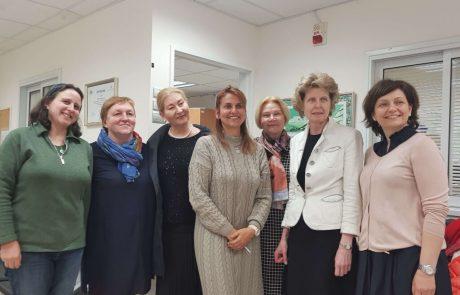 משלחת חינוכית מאסטוניה התארחה במודיעין