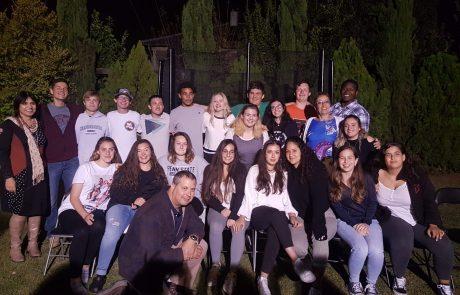 """שגרירים צעירים:משלחת של תלמידי י""""א נסעה לפנסילבניה לייצג את העיר והמדינה"""