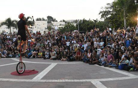 אלפי מבקרים בפסטיבל הקרקס מודיעין מכבים רעות