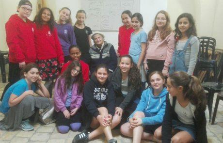 תלמידות שבטי ישראל יצאו למסע במסגרת תכנית שנת בת המצווה