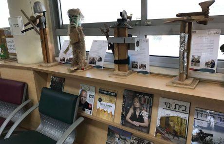 תערוכה ברוח היהדות וירושלים בבית הספר נתיב זבולון