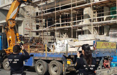 הפסקת בניה: 12 אתרי בנייה במודיעין נסגרו בצו בטיחות