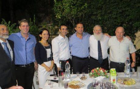 הרמת כוסית של מפלגת הבית היהודי במודיעין לשנה החדשה