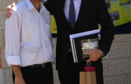 שגריר שבדיה בישראל ביקר במשואת נריה
