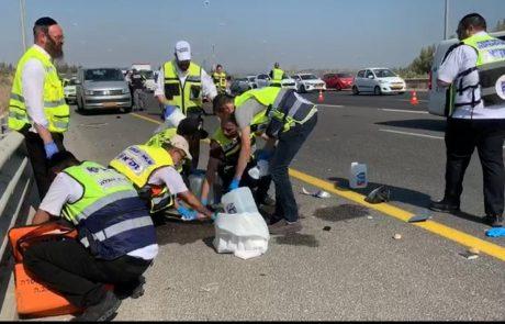 תאונה קטלנית בכביש 431 סמוך למחלף ענבה במקום הרוג
