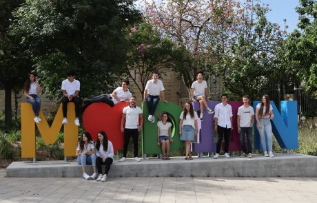 מוקירים את הנוער המתנדב המצטיין: 13 בני ובנות נוער קיבלו אות הוקרה