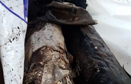 בית הכנסת במבוא חורון עלה באש:ספרי תורה נשרפו כליל