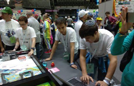 """קנאת סופרים: תלמידי הישיבות התיכוניות ממודיעין מככבים בתחרות הרובוטיקה הבינ""""ל שבאסטוניה"""