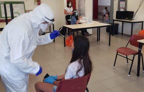 בעקבות גילוי חולה קורונה: בדיקות קורונה ל-90 תלמידים ואנשי צוות מתיכון עירוני ד׳ במודיעין