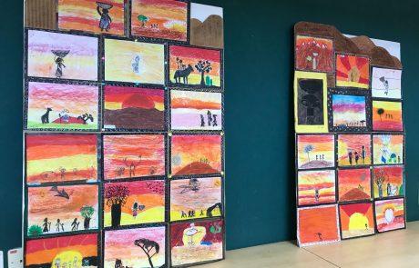 תערוכה בעקבות ספרים על עליה מאתיופיה