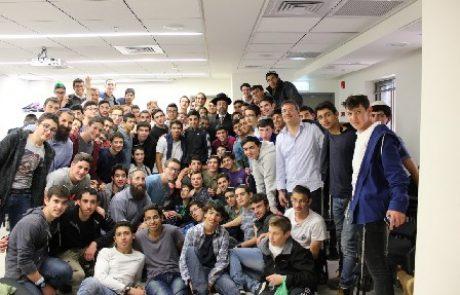 תלמידי שעלבים קיבלו תעודת זהות בכנסת ישראל